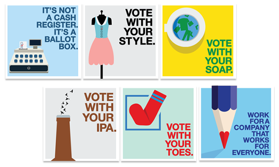 Vote Every Day. Vote B Corp.