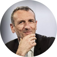 Photo of Emmanual Faber, CEO of Danone